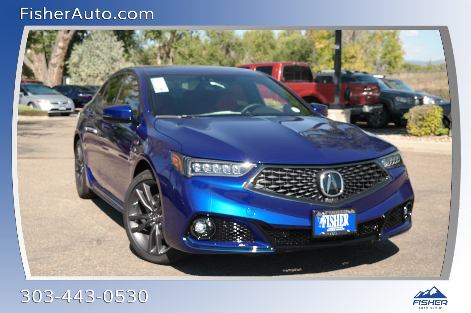New 2019 Acura Tlx W A Spec Pkg Red Leather 4dr Car In Boulder