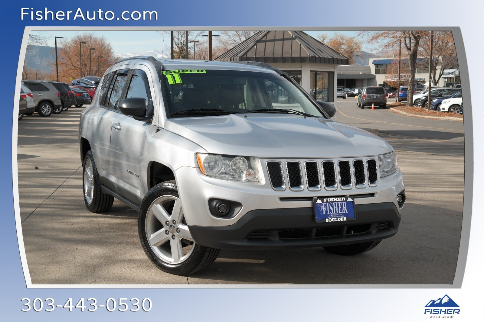 Pre-Owned 2011 Jeep Compass 4WD 4dr Limited
