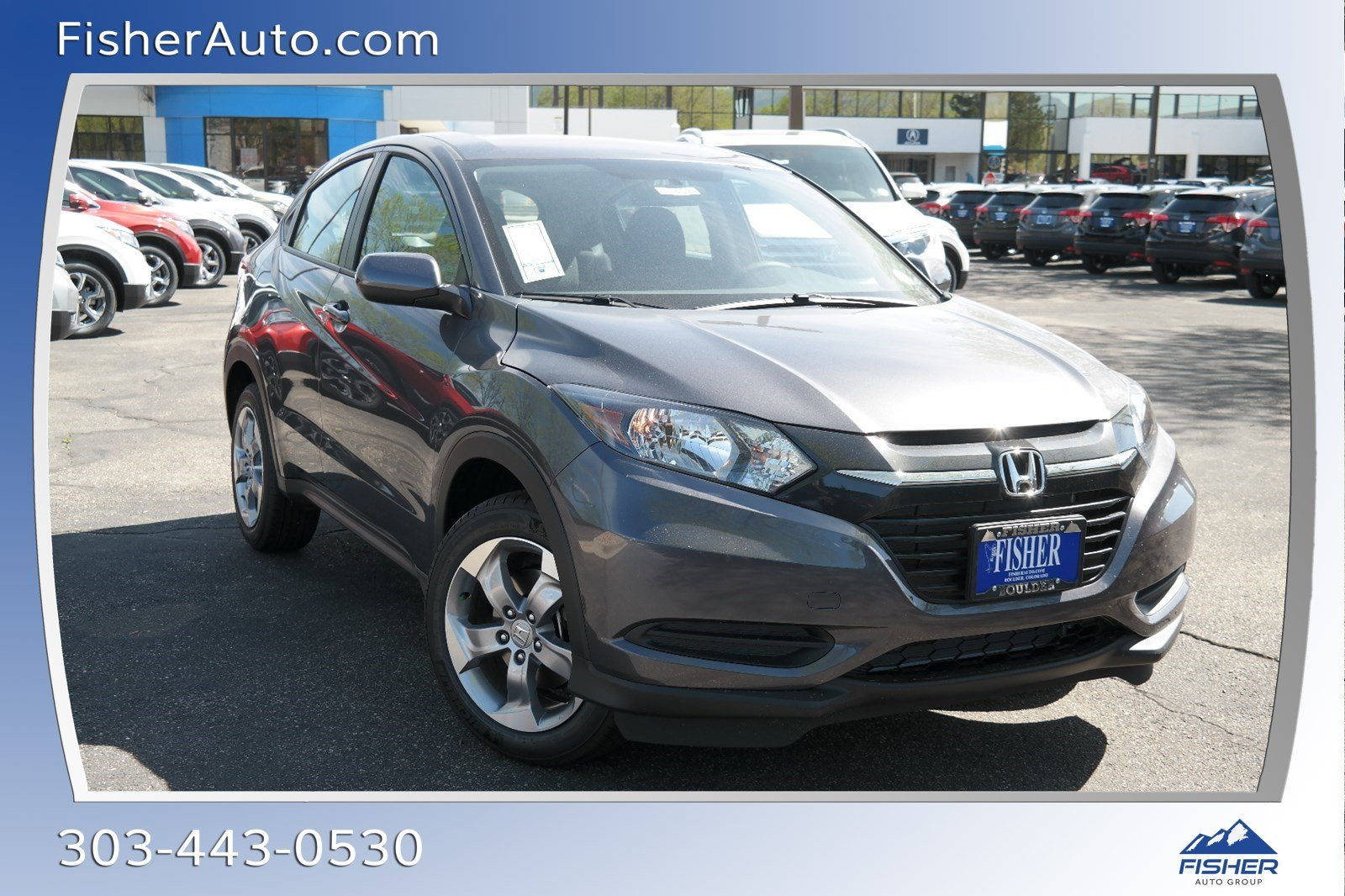 New 2018 Honda Hr V Lx Sport Utility In Boulder 18459 Fisher Auto