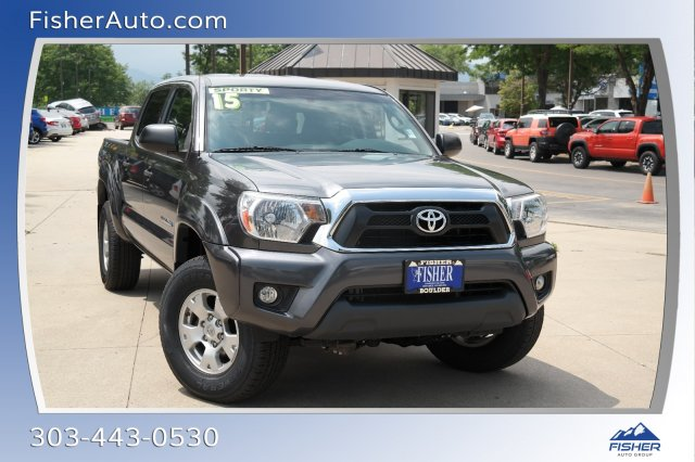 Pre-Owned 2015 Toyota Tacoma 4WD Double Cab V6 AT