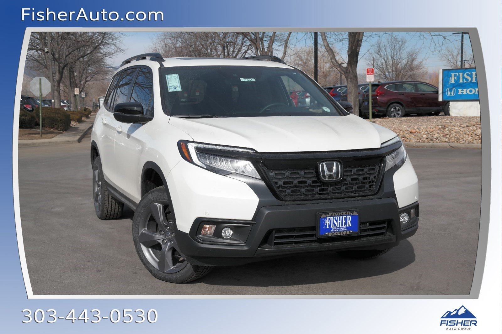 Fisher Auto Sales >> New 2019 Honda Passport Touring Awd