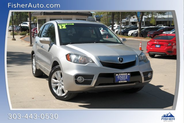 Pre-Owned 2012 Acura RDX AWD 4dr Tech Pkg