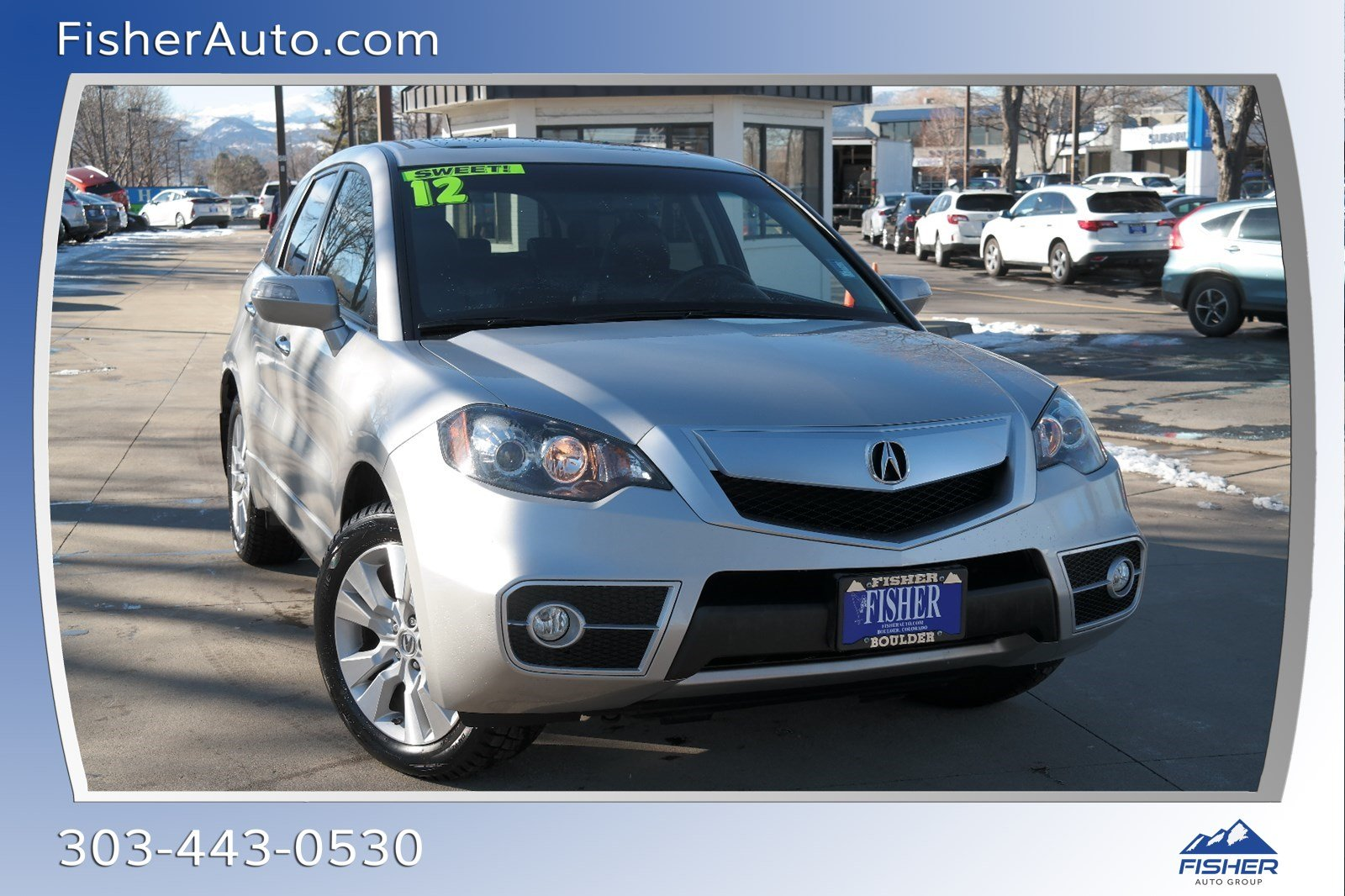 Pre-Owned 2012 Acura RDX FWD 4dr Tech Pkg