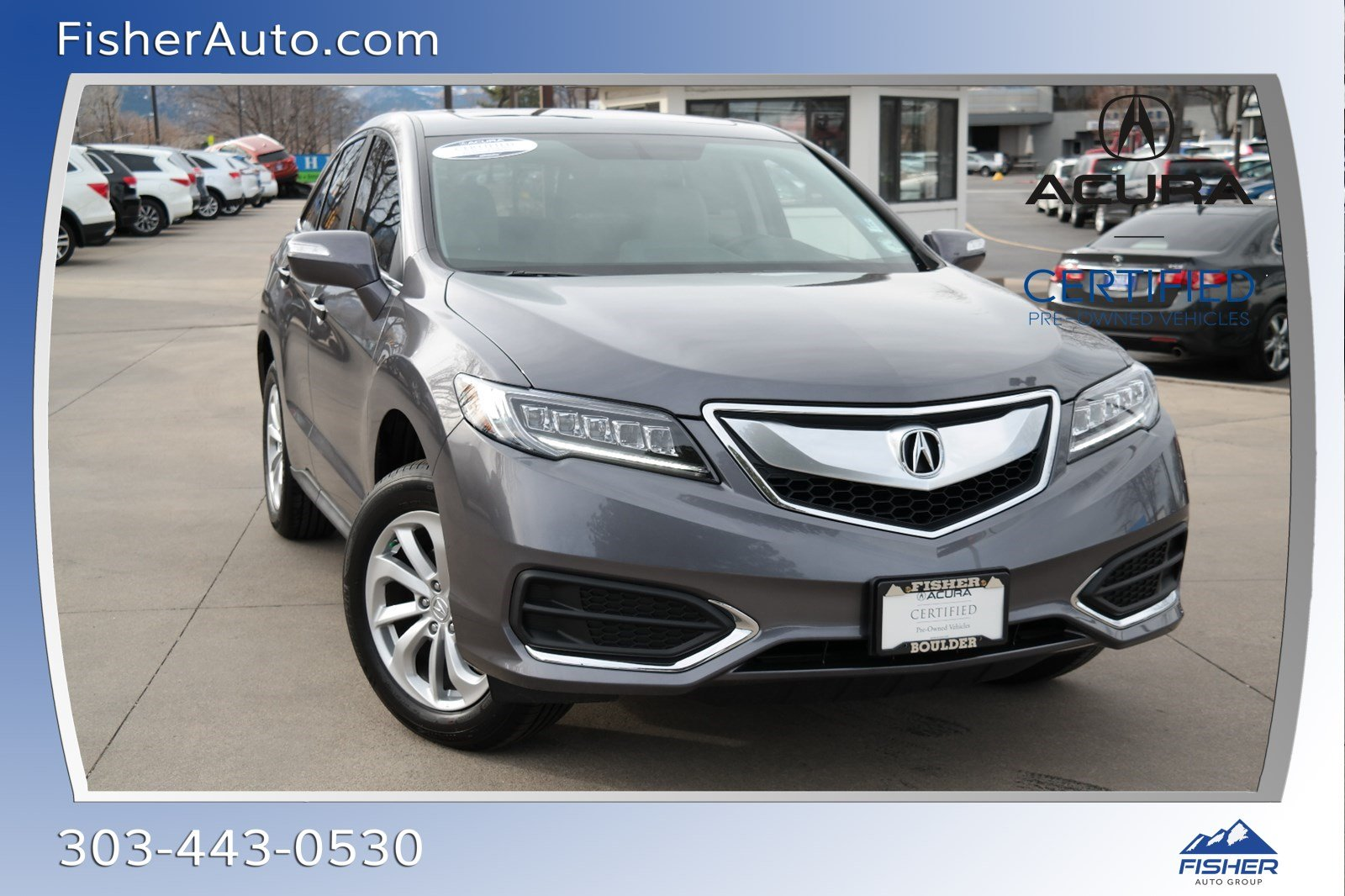 Certified Pre-Owned 2018 Acura RDX AWD w/Technology Pkg