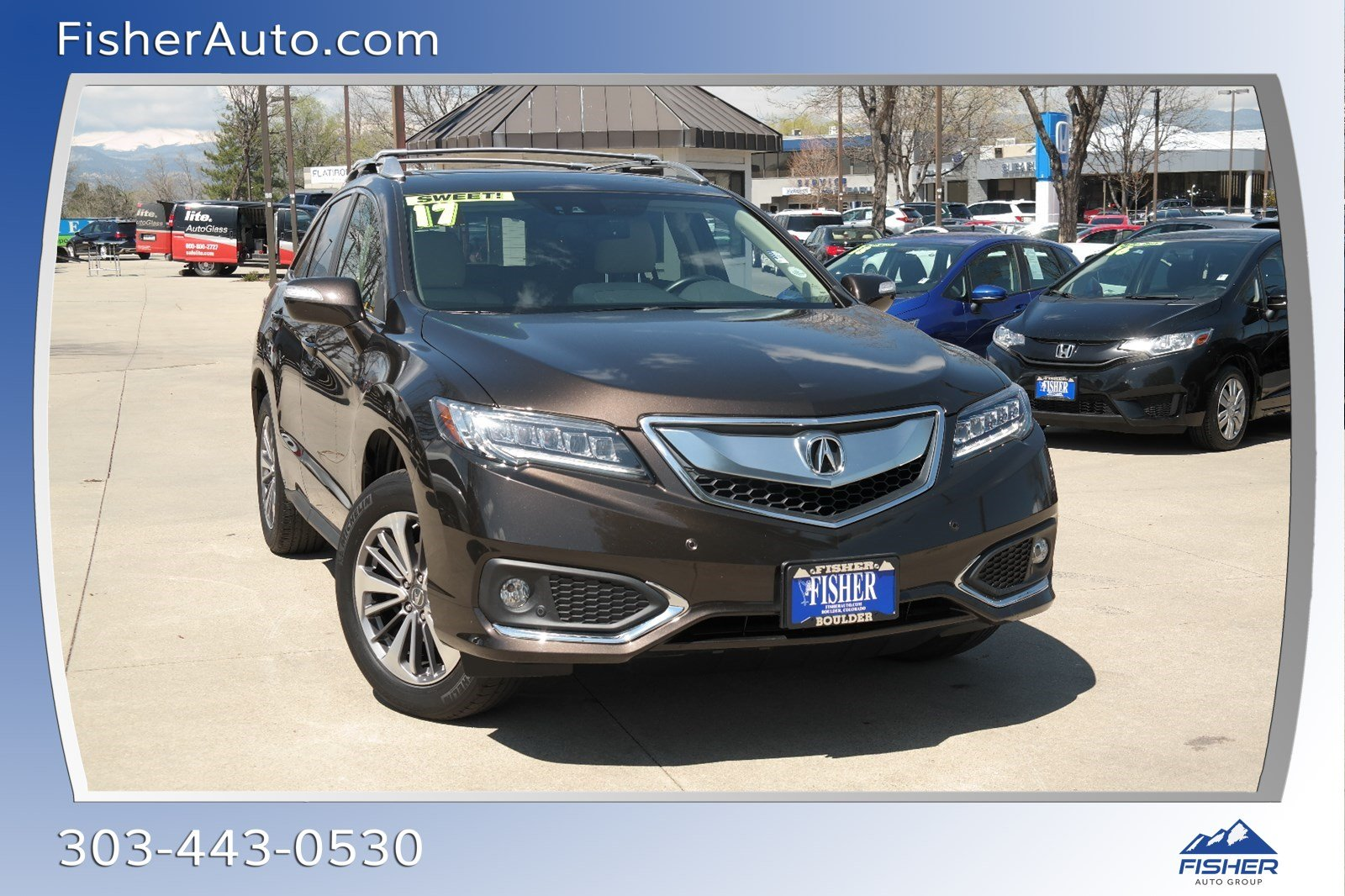 Pre Owned 2017 Acura Rdx Awd W Advance Pkg