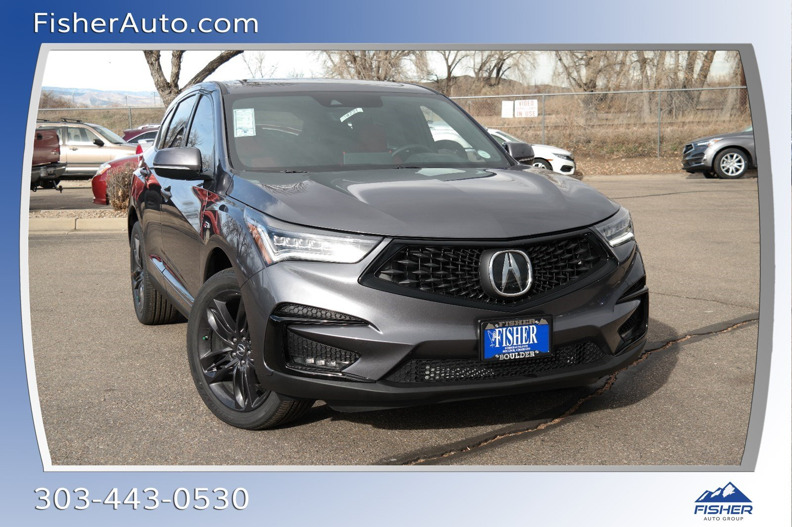 New 2019 Acura Rdx W A Spec Pkg Sport Utility In Boulder 194731