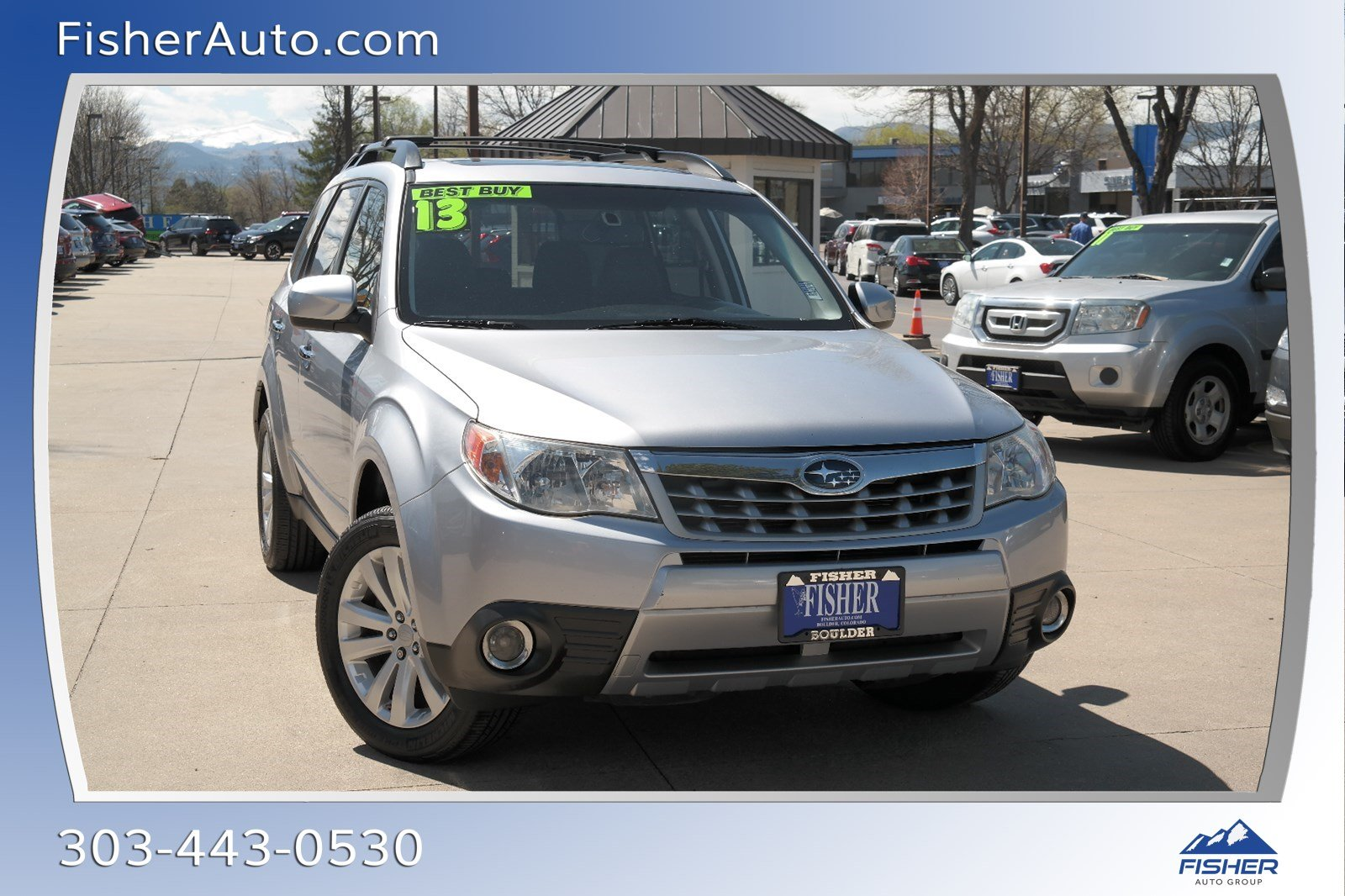 Pre-Owned 2013 Subaru Forester 4dr Auto 2.5X Limited