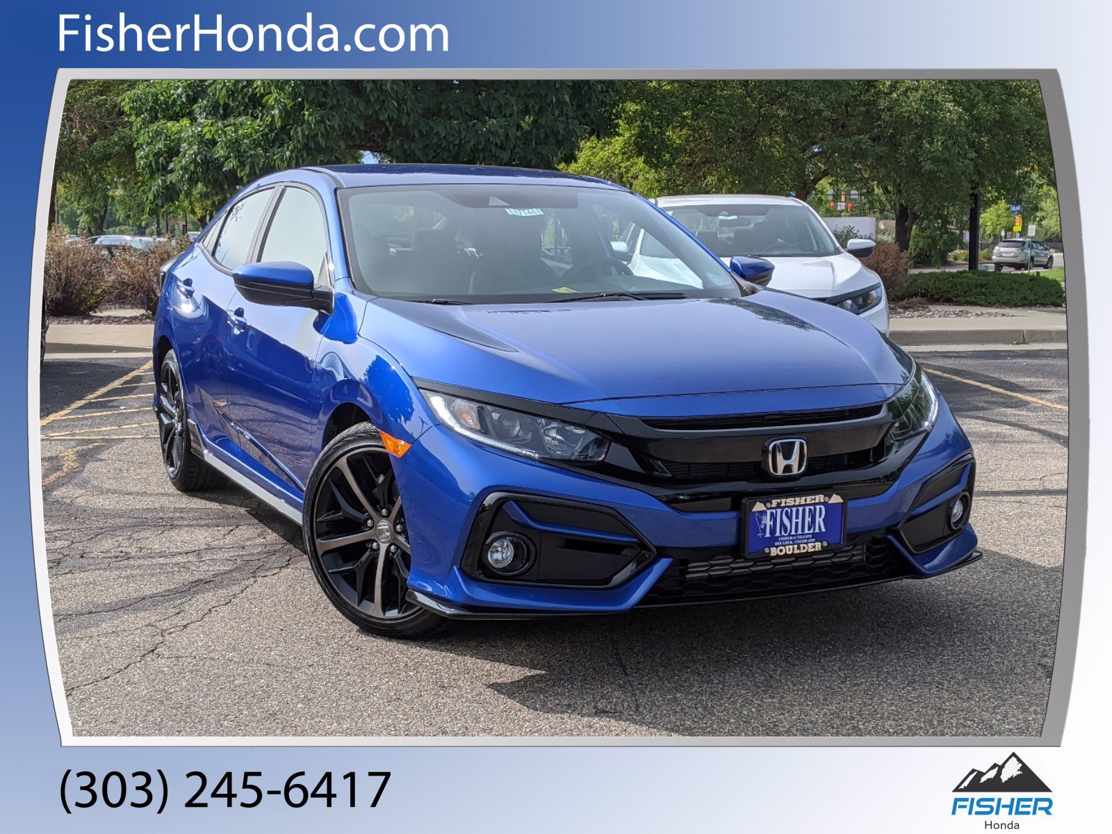 New 2020 Honda Civic Hatchback Sport