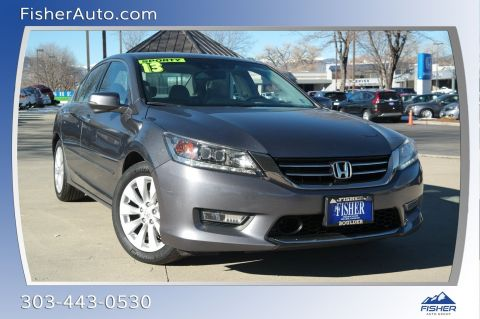 Pre-Owned 2013 Honda Accord 4dr V6 Auto Touring