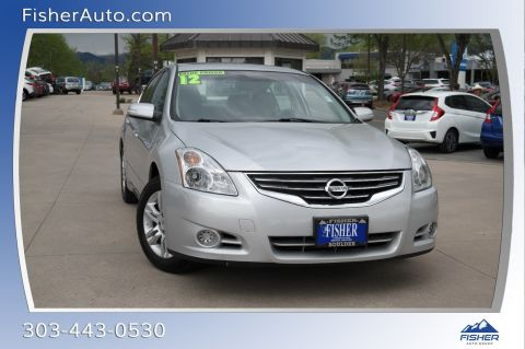 Pre-Owned 2012 Nissan Altima 4dr Sdn I4 CVT 2.5 SL