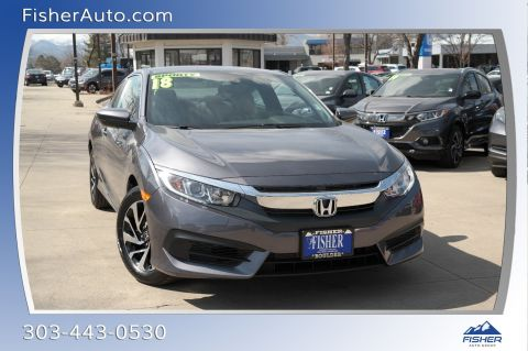 Pre-Owned 2018 Honda Civic LX-P CVT
