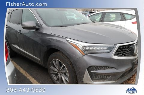 Pre-Owned 2020 Acura RDX AWD w/Technology Pkg