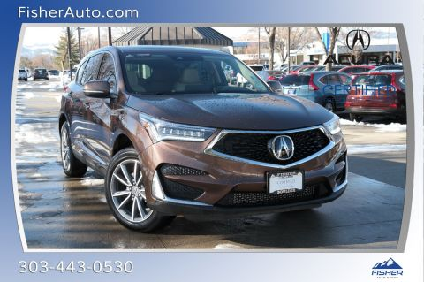 Certified Pre-Owned 2019 Acura RDX AWD w/Technology Pkg