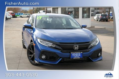 Pre-Owned 2017 Honda Civic Hatchback Sport Touring CVT